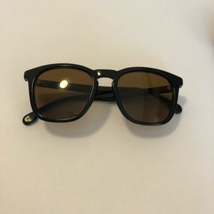Carrera Round Black Sunglasses
